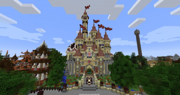 Craftventure is a themepark inspired by real life counterparts such as Disney parks and many other parks.