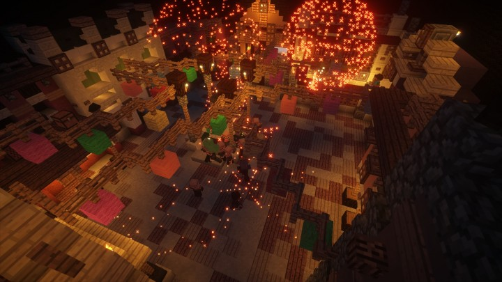 We have multiple minigames in our server from racing to lasergaming. All our minigames are custommade, and by playing the themepark, you can actually get upgrades for the minigames!