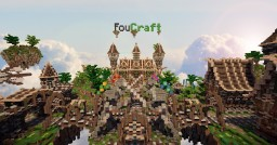 Foucraft Server Spawn Minecraft Map & Project