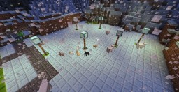 Minecraft 8 Bit NES Inspired Game Minecraft Map & Project