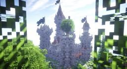 Chandler Castle (64x64 castle/fort plot build) Minecraft Map & Project