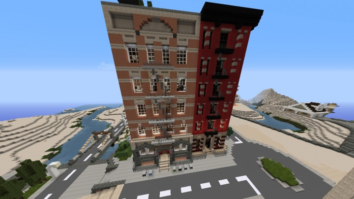 New York Appartment Buildings Minecraft Project