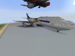 Boeing 747 Minecraft Map & Project