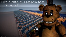 Five Nights at Freddy's Song - in Minecraft! Minecraft Map & Project