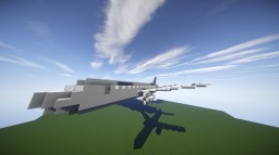 Airbus A319-200 | (Air France) Minecraft Map & Project