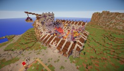 A medieval little market Minecraft Map & Project