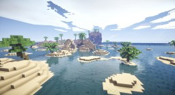 Karibik / Beach Terraform Minecraft Project