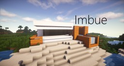 Imbue | Modern House (Interior Design) Minecraft Map & Project