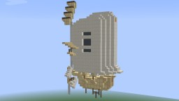 SandStorm MiniShip Minecraft Map & Project
