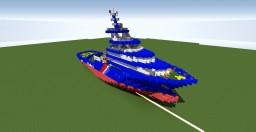 Abeille Bourbon 1:1 scale Minecraft Map & Project