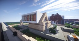 The White Square | Contemporary House | FLAC Minecraft Map & Project