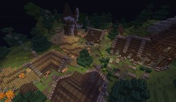 Medieval village [Done] Minecraft Map & Project