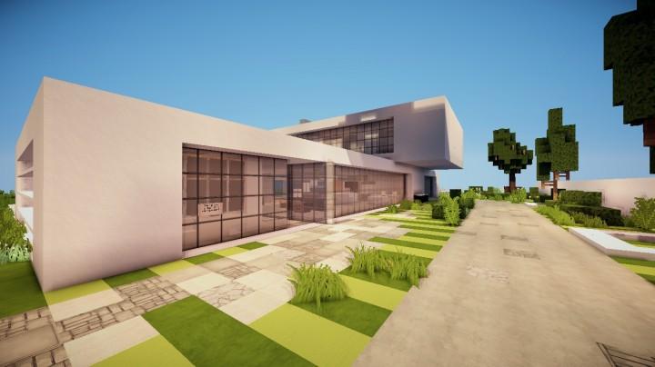 Modern sleek house world of keralis minecraft project for Modern house 5 keralis