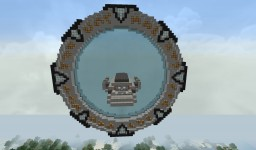 Stargate Atlantis Portal Minecraft Map & Project