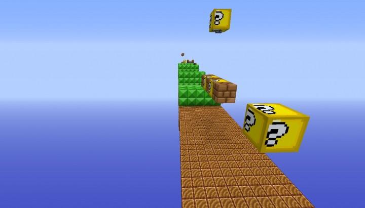 Super Mario Parkour Map Demo Minecraft Project - Mapas para minecraft 1 10 2 de parkour