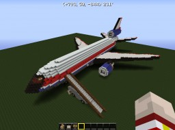 Private Douglas DC-10 Minecraft Project