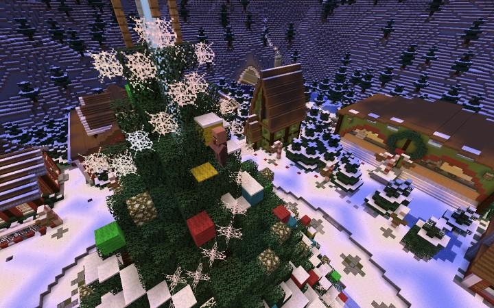 Christmas Calendar Minecraft : Save christmas advent calendar minecraft project