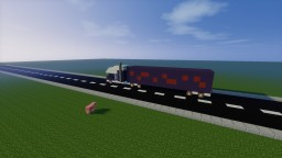 16 Wheeler (Detailed Insides) Minecraft Map & Project