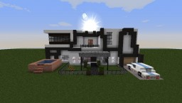 First Modern Home Minecraft Map & Project
