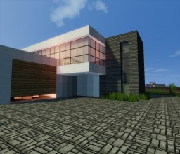 Modern Home (Part Beach House) Minecraft Map & Project