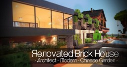 Renovated Brick House - No MCEdit - You won't believe it !!! Minecraft Project