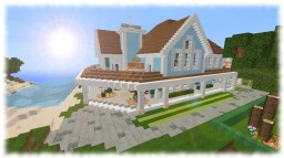 The Blue House | First Pop Reel! | Minecraft Map & Project
