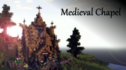 Medieval | Church house [DOWNLOAD] Minecraft Project