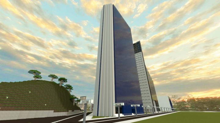 Mercantil Tower Minecraft Project