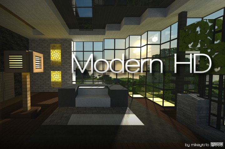 Minecraft Texture Packs Modern Craft Hd