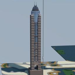 Dubai Marriott Harbour Hotel and Suites, Marina, Dubai, United Arab Emirates, Minecraft Map & Project