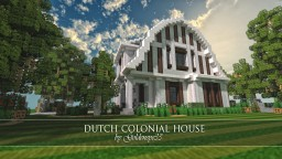 Dutch Colonial House | GBC | 200 Subs | Architecture Minecraft Map & Project