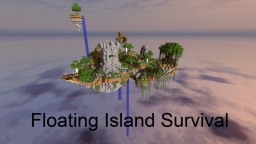 Floating Island Survival! 1.8 (By CamiriKids) Minecraft Project