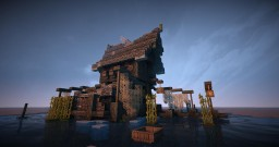 My builds from Esgaroth Laketown Hobbit LotR Minecraft
