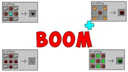 (1.7.10) [Forge] Boom Plus Mod - New Explosives!