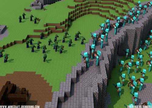 Dwarves Vs Zombies (Vanilla) Minecraft Server