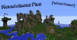 Mountainous Plus  [World Preset] Minecraft