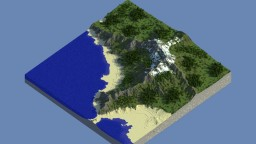 Coastal Mountain Range - Landscape Minecraft Project