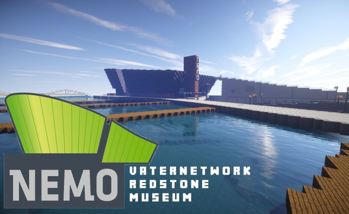 Visit our redstone museum NEMO. You can watch interesting mechanism!