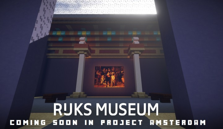 Visit the Hall of Honor of the Rijksmuseum ingame, visible in end of January