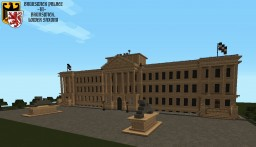 Brunswick Palace in Brunswick, Lower Saxony (TMW's German Historical Builds) Minecraft Map & Project