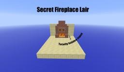 Minecraft - Secret Fireplace Lair (lblTut) Minecraft Map & Project