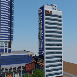 Highrise  Building  (16 floors)  No. 1 Road, Futian, Shenzhen, Guangdong, China Minecraft Map & Project