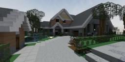 Big Modern House Minecraft Map & Project