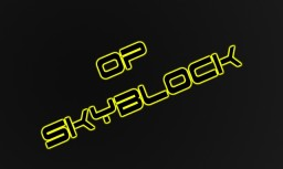 OP Skyblock Minecraft Map & Project