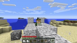 Multi-block player-made flying machines Minecraft