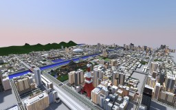 City of  MISAKI Japanese metropolis Minecraft