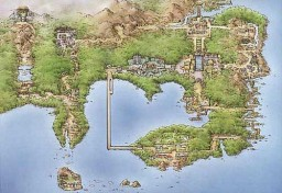 Kanto Region Adventure+Explore Map Minecraft Map & Project