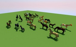 Horses Minecraft Map & Project