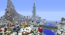 Christmas Land - Treasure Island Minecraft Project