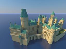 Sorcerer's Stone Hogwarts Castle Minecraft Map & Project
